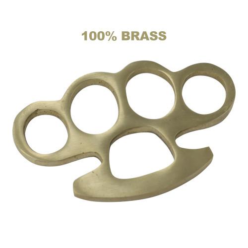 Mama Tried 100% Pure Brass Knuckleduster Paper Weight Accessory