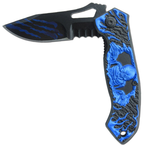 Watchers of Sin Spring Assist Knife Sloth