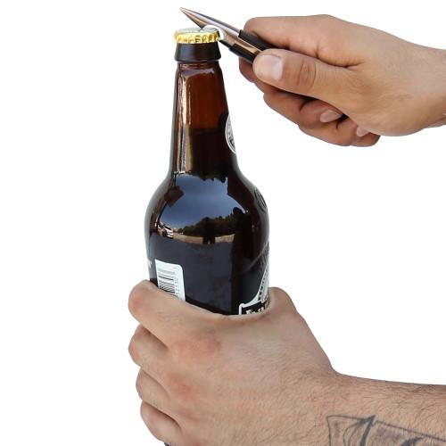 Bottle Opener Night Fighters Bullet Spring Assist Knife