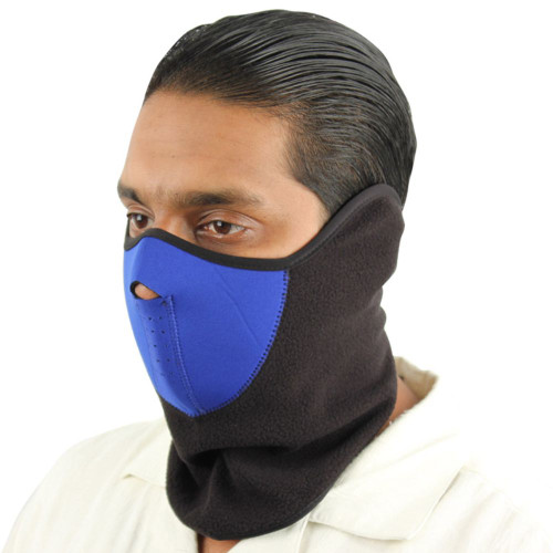True Blue Neoprene Face Mask