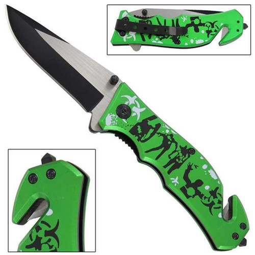Dead of Night Infectious Spring Assisted Knife