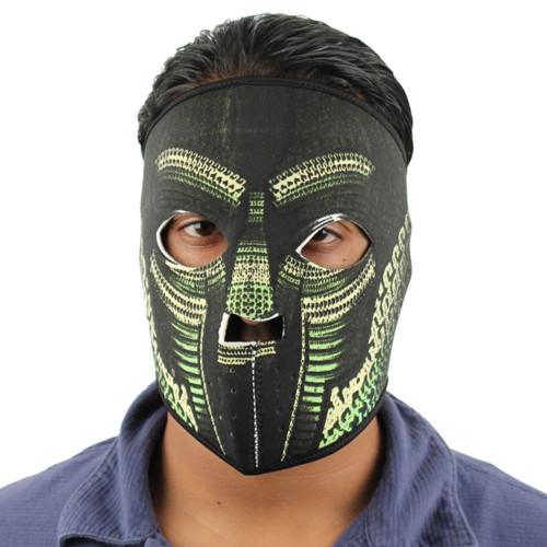 Doom Mad Rapper Neoprene Mask Green
