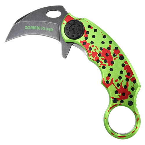 Killer Primal Fear Tactical Spring Assist Karambit Knife