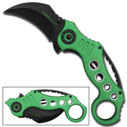 Rancid Killer Karambit Spring Assisted Knife