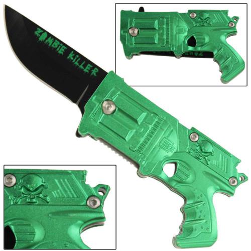 Killer California Legal Spring Assist Gun Knife