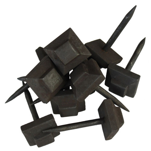 Old World Hand Forged Flat Top Clavos