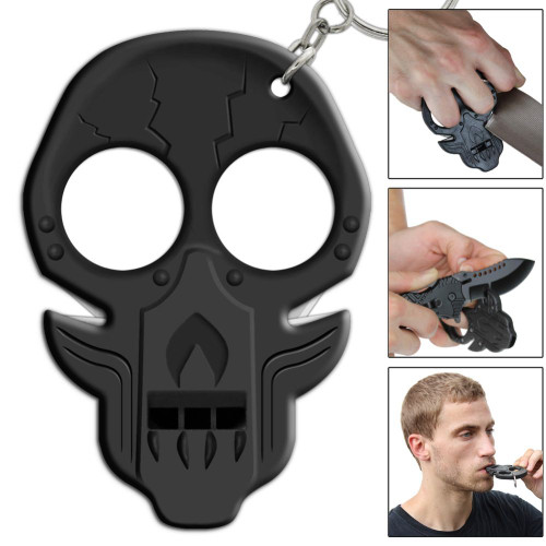 Death Bed Uprising Apocalypse Emergency Key Chain