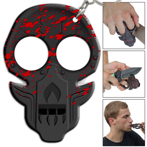 Corpse Uprising Blood Splatter Emergency Key Chain