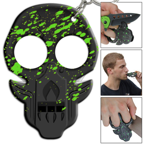 Corpse Uprising Radioactive Splatter Emergency Key Chain
