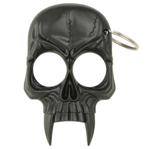 Demonic Skull Self Defense Keychain Black