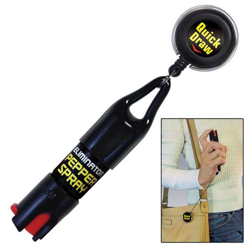 Eliminator Quick Draw Retractable Pepper Spray