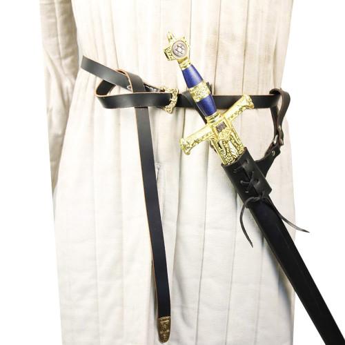 Medieval Leather Sword Frog