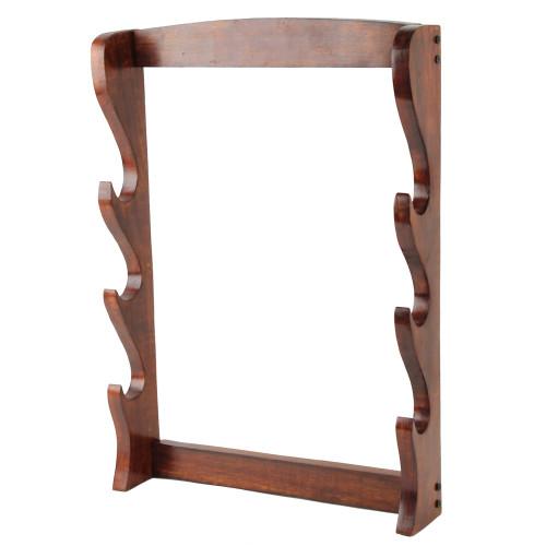 Walnut Wood Sword Stand