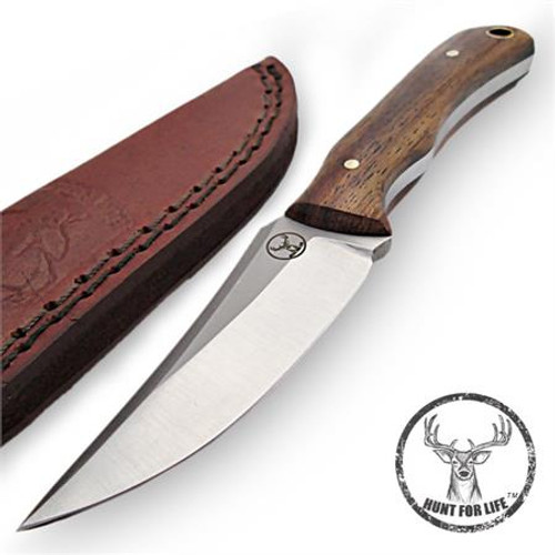 Hunt For Life™ Boarhound Stainless Steel Full Tang Skinning Knife