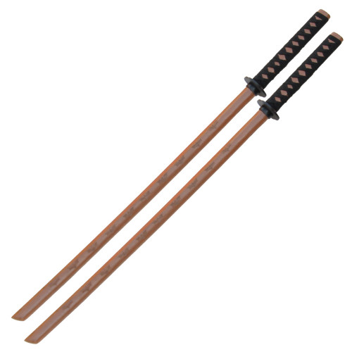 Natural Wood Dark Night Rises Bokken Set