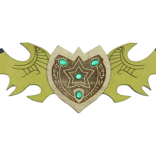 Twin Blade Demon Hunter Wooden War Sword