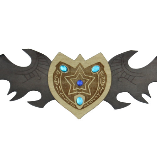 Night Elf Betrayer Twin Blade Wooden Sword