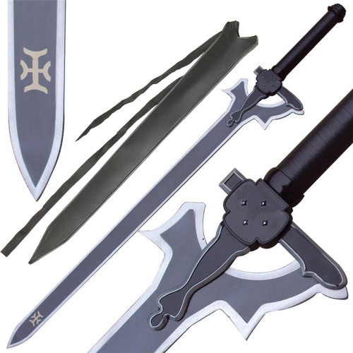 SAO Kiritos Elucidator Anime Sword Replica