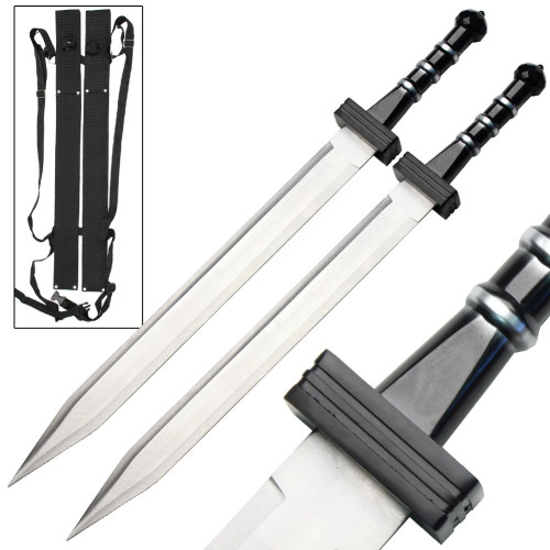 Gladiator Combat Deadly Twin Sword Set