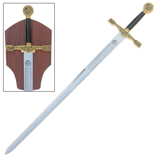 Sword of Excalibur King Arthur Golden