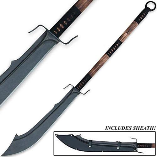 Chinese Warrior Guan Dao War Sword