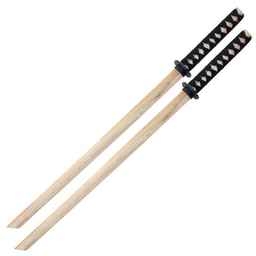 Basic Training Hardwood Sparring Bokken Set