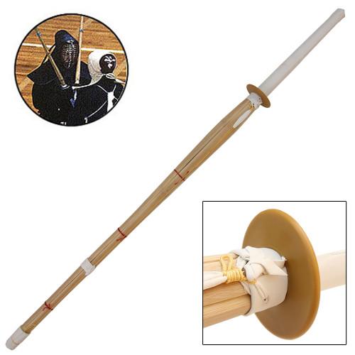 Bamboo Shinai Sparring Sword Sheath Set