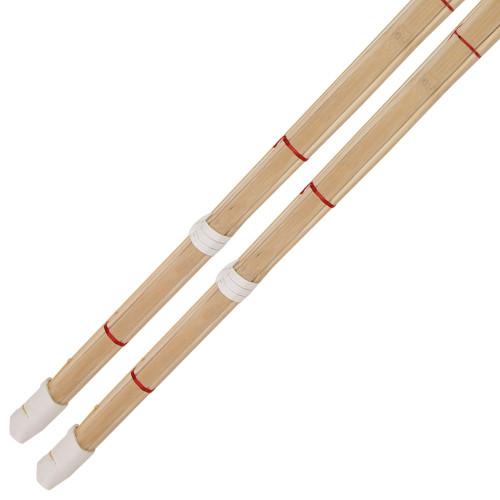 Dual Kendo Shinai Bamboo Practice Katana Set