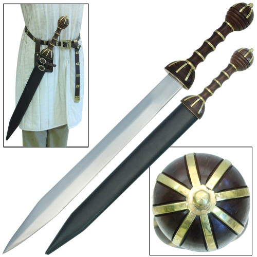 Ancient Roman Foot Solider Gladius Sword