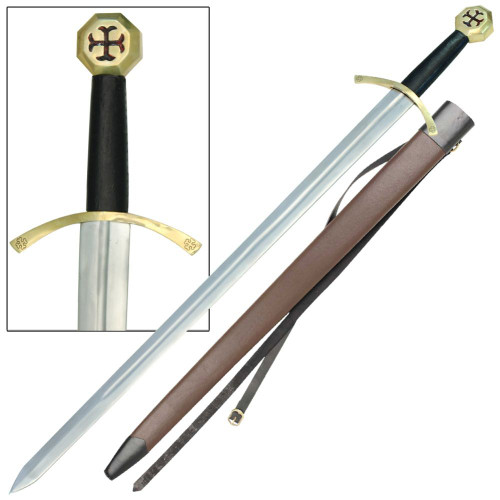 Order of the Temple Medieval Knights Sword