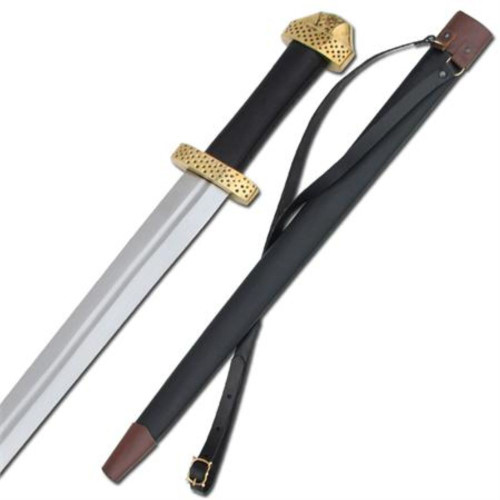 Viking 9th Century Handcrafted Steel Functional Sword