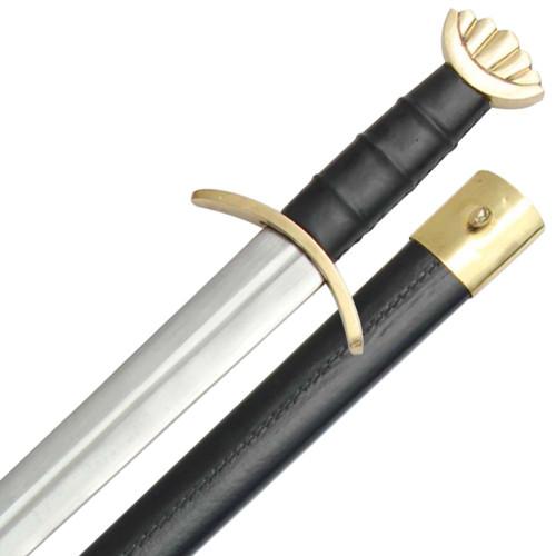 Brass Noble Savage Viking Combat Sword