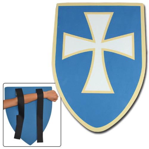 Knights Templar Regal Blue Foam Shield