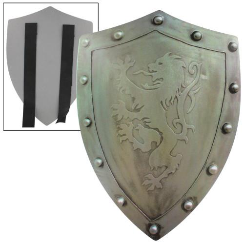 Rampant Lion Bravery Medieval Battle Foam Shield