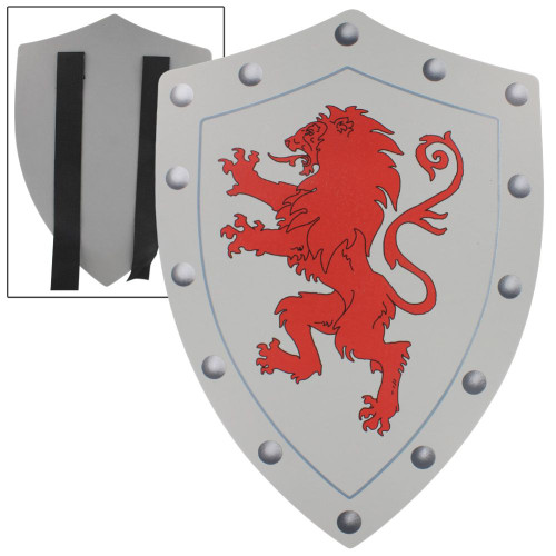 Rampant Lion Valor Medieval Battle Foam Shield