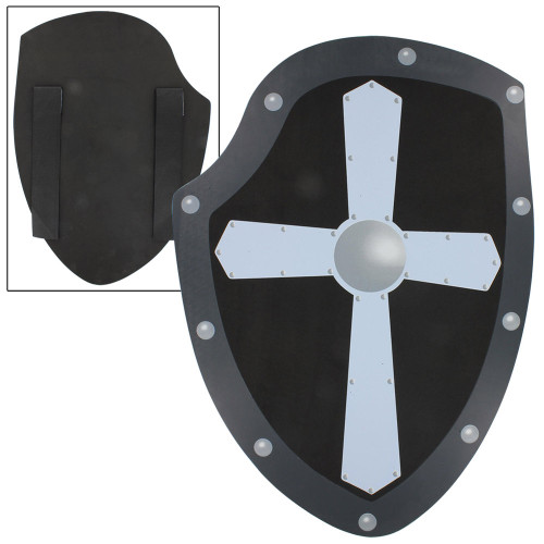 Fortitude Iron Cross Medieval Foam Shield