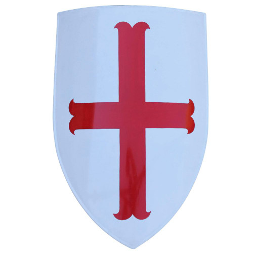 Medieval Templar Knight Heater Shield