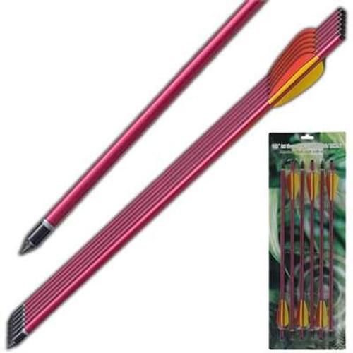 Survival Arrow Equipment Aluminum Red 16 Inch