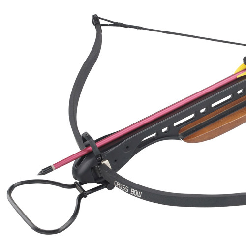 Hunters Crossbow 150lbs Wooden Stock