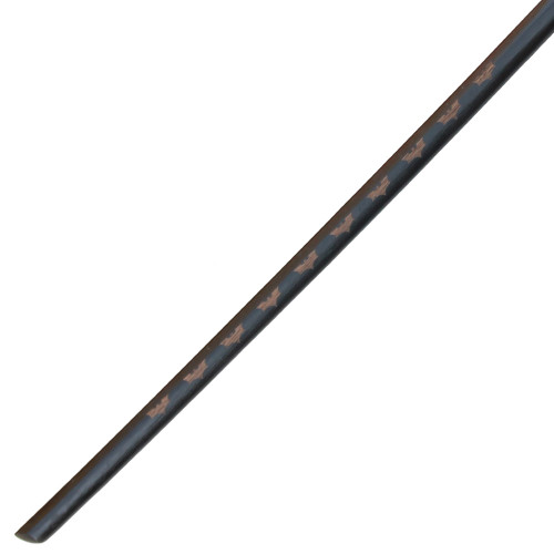 Dark Night Rises Blackened Bokken with Sheath Combo