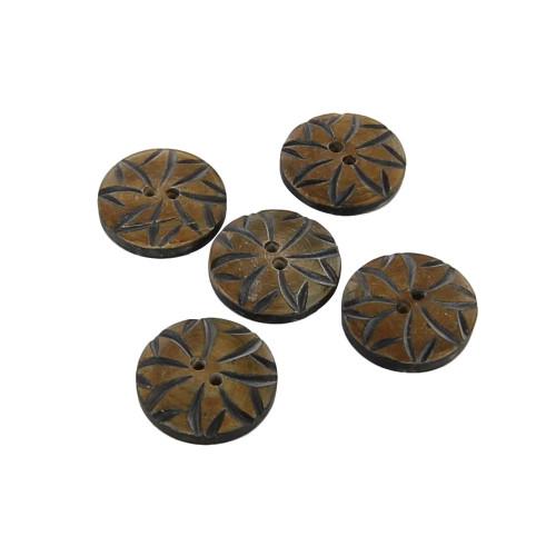Handmade Wild Flower Stylish Button Set