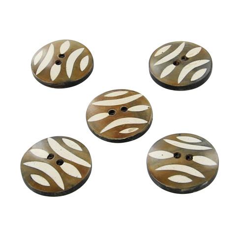 Horn Signature Style Handmade Button Set