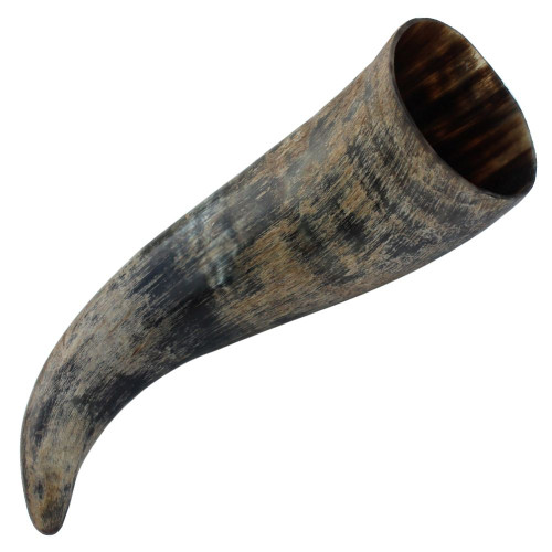 Distressed Raider Viking Horn with Rack