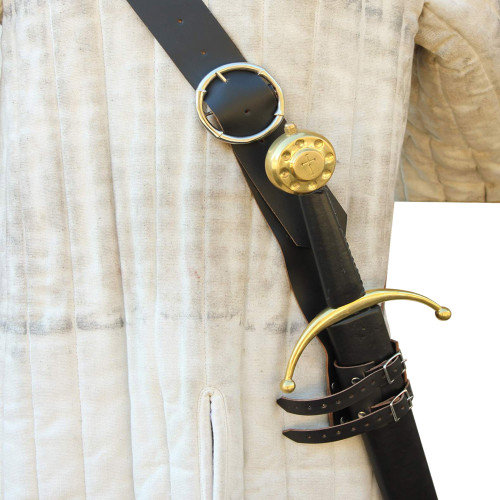 Ready For War Leather Sword Belt