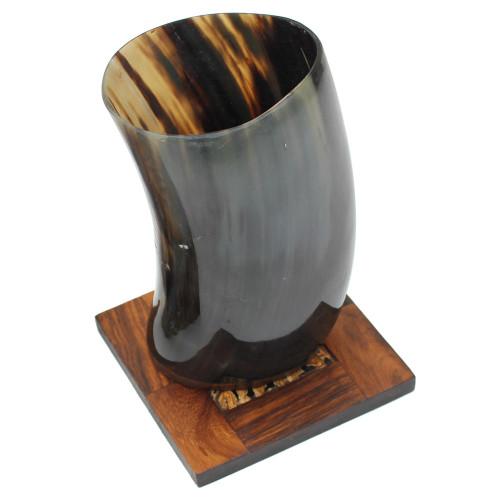 Medieval Buffalo Horn Dining Mug