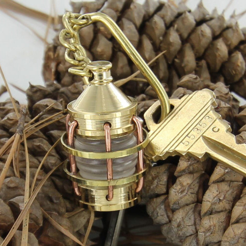 Nautical Boat Anchor Lantern Keychain
