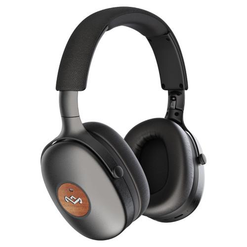 Schwarz | Positive Vibration XL ANC Over-Ear Bluetooth Kopfhörer - The House of Marley DE
