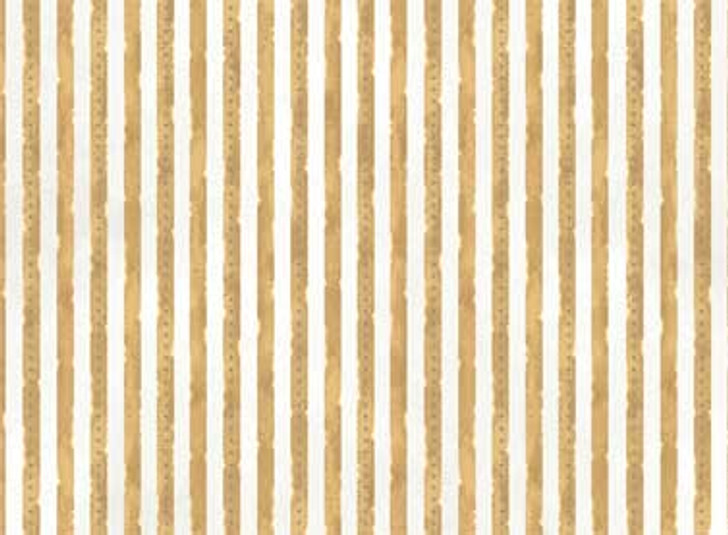 Set of 5 Cards Beautiful You TanWhite Striped Print