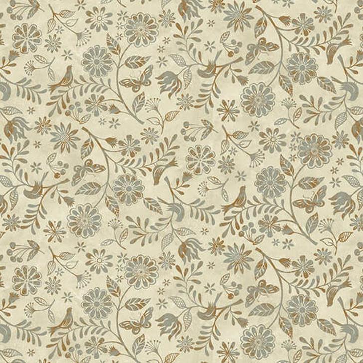 Studio E - Le Poulet - Small Wildflower Allover, Cream