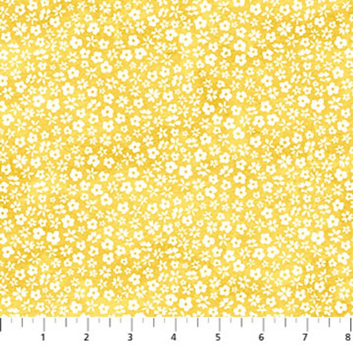 Northcott - Windsong - Floral Blender, Yellow